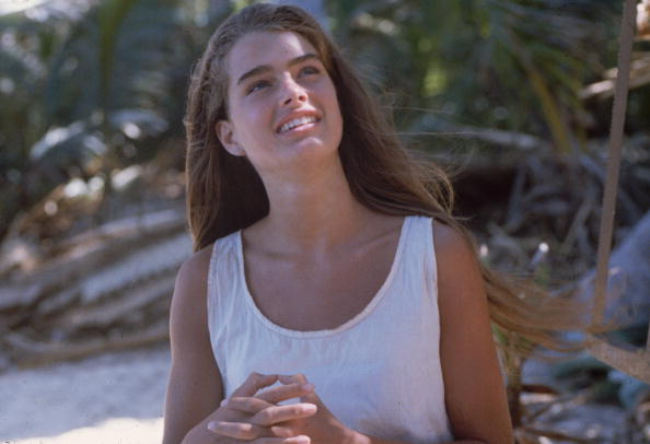 Brooke Shields in 'The Blue Lagoon'(Photo by Hulton Archive/Getty Images)