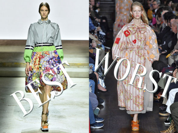 Best and Worst of London Fashion Week