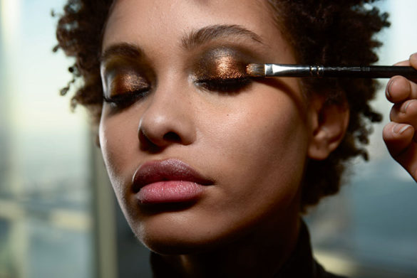 Beauty-Trend: Metallic Make-Up